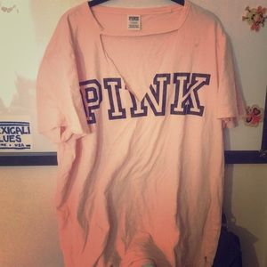 Pink Campus Tee
